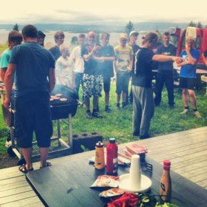 Like før burgerfesten braker løs på Fjordtrial 2012!
